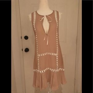 For Love and Lemons SKIVVIES silk babydoll dress
